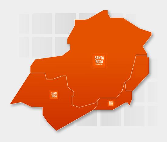 Mapa Sudeste